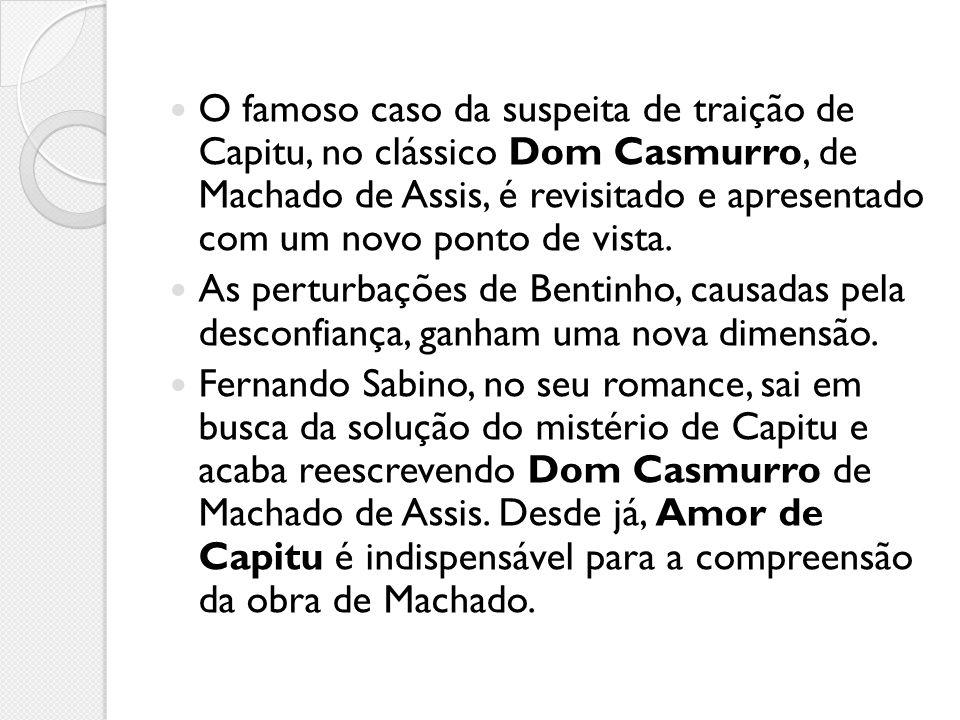 O enredo A história se passa no Rio de Janeiro da segunda metade do século XIX, na rua de Matacavalos (tudo começa em novembro de 1857).