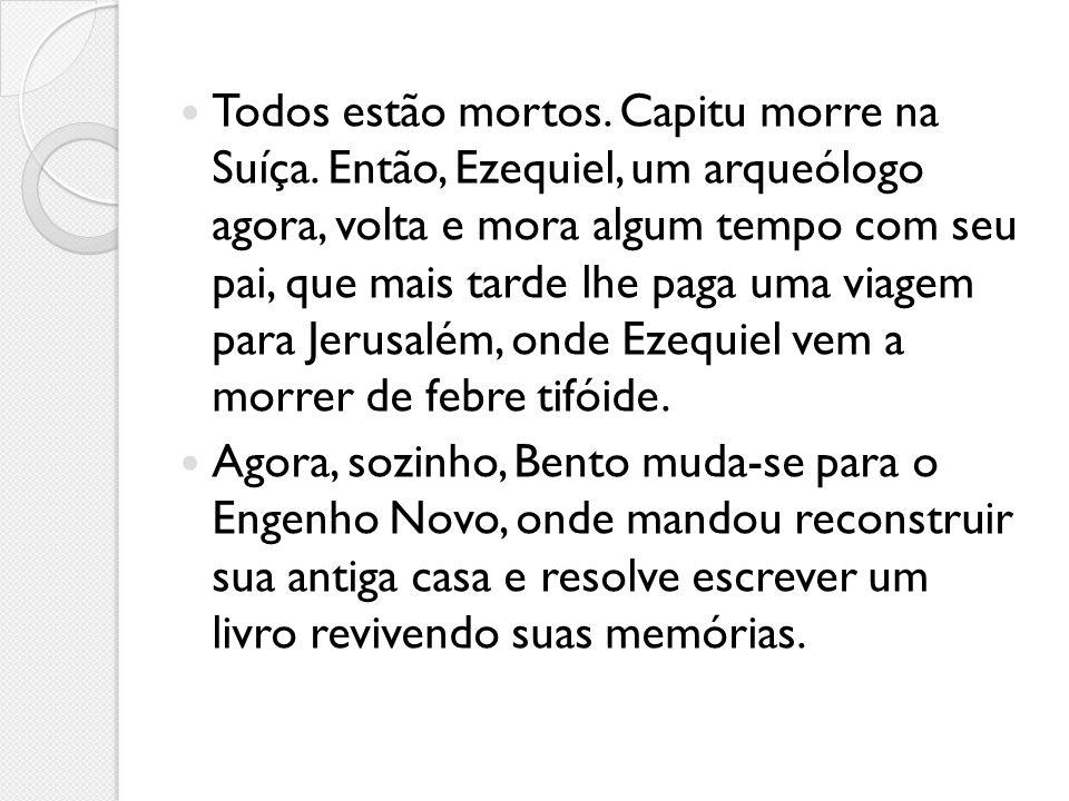 As personagens Capitu: Ao longo dos anos, Capitu tem desafiado a crítica com seu enigma, sutilmente criado por Machado de Assis.