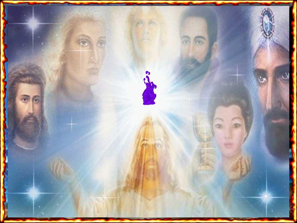 Eu Sou a energia Crística o Cristo Cósmico, a ligação do filho com o Pai e vim muitas vezes ao seu planeta, desde o princípio de sua criação. Eu Sou a