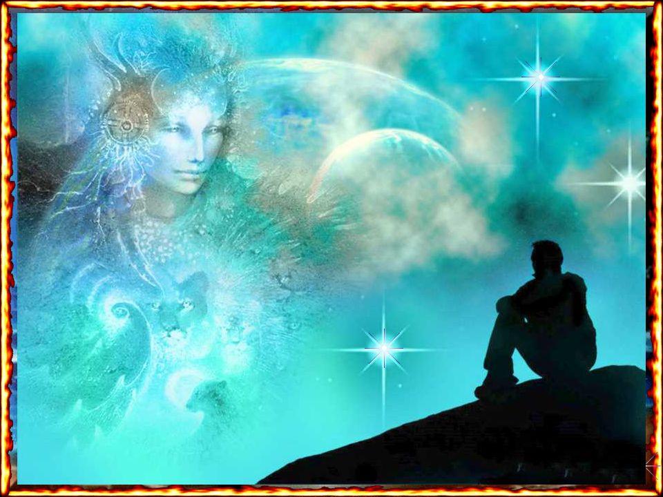 Minha missão é abençoar e conduzir a toda a criação. Eu estou em todo lugar, em todo planeta e dimensão onde haja vida e consciência de vida porque Eu
