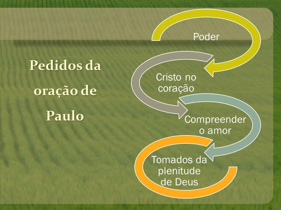 5 – 3º Motivo: ser tomado pela plenitude de Deus.poder...