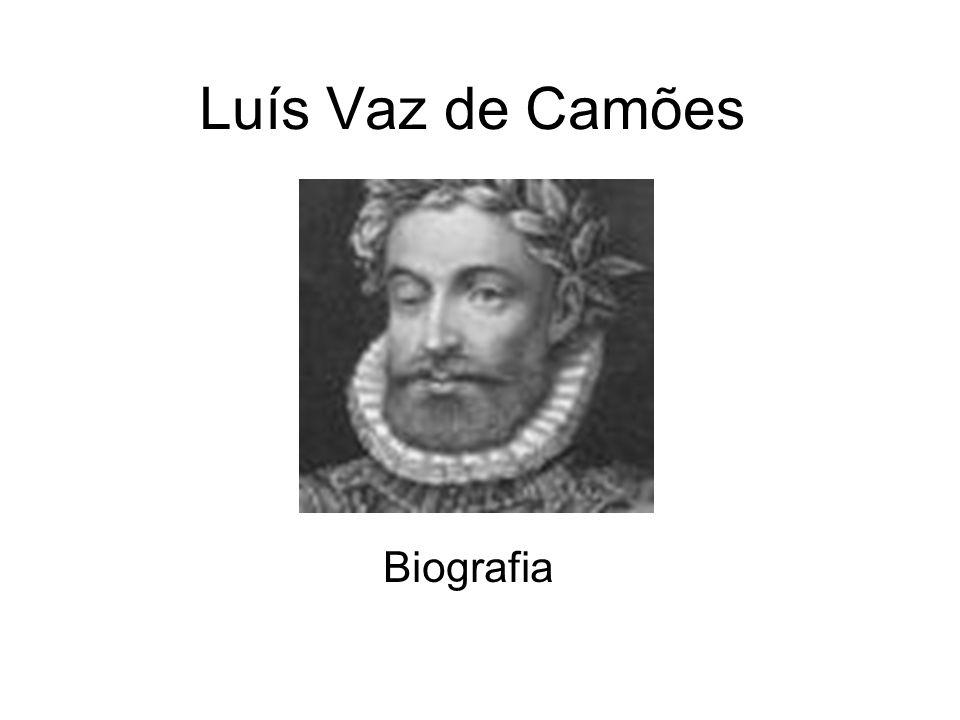 Luís Vaz de Camões Biografia