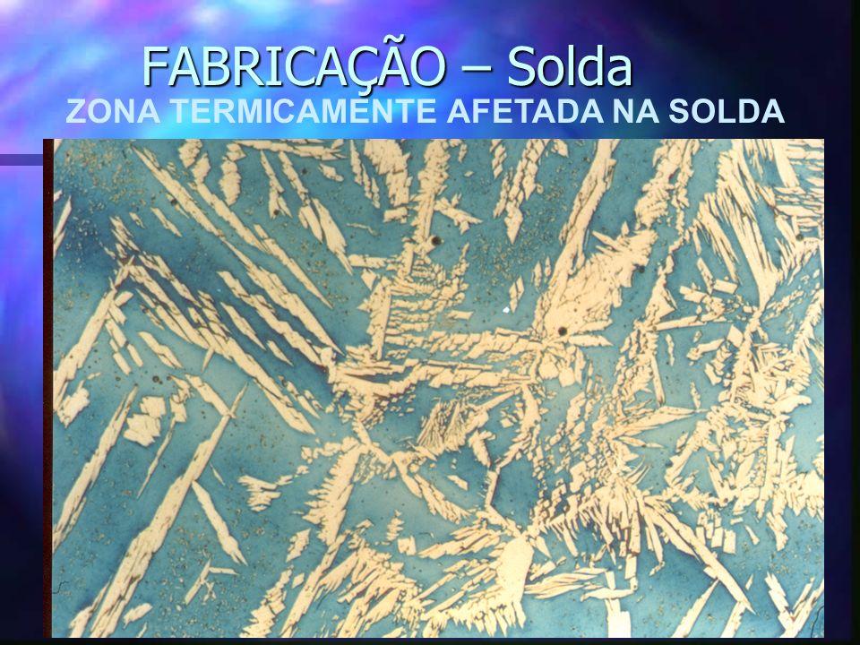 ZONA TERMICAMENTE AFETADA NA SOLDA FABRICAÇÃO – Solda