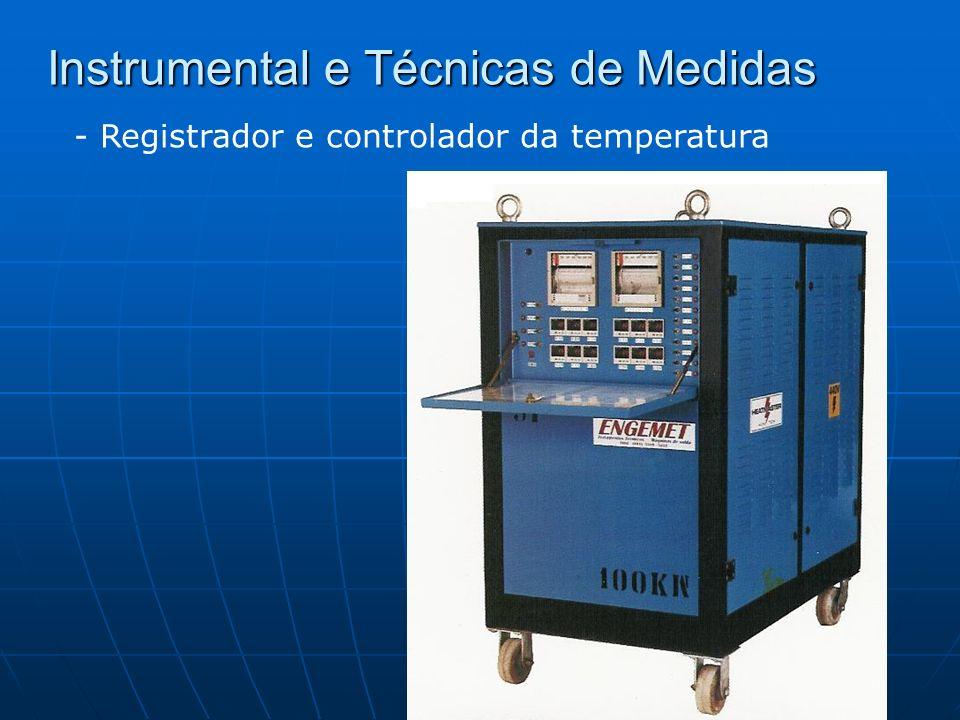 Instrumental e Técnicas de Medidas - Registrador e controlador da temperatura