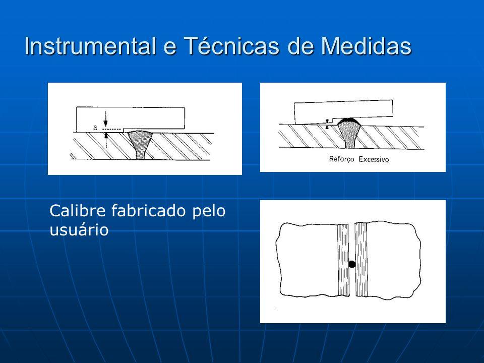 Instrumental e Técnicas de Medidas Calibre fabricado pelo usuário
