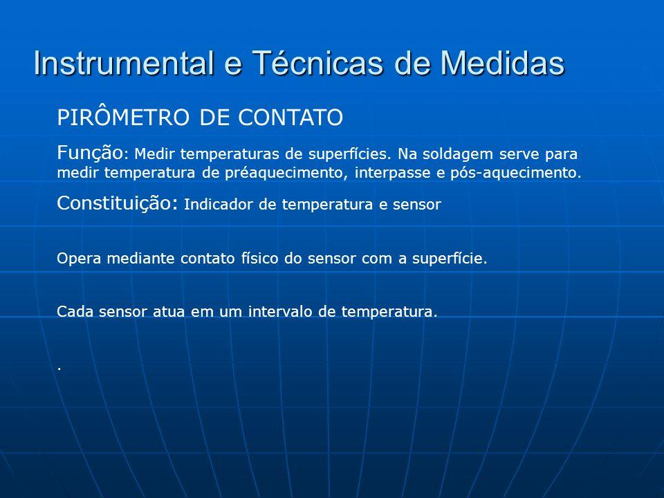 Instrumental e Técnicas de Medidas REGISTRADORES DE TEMPERATURA