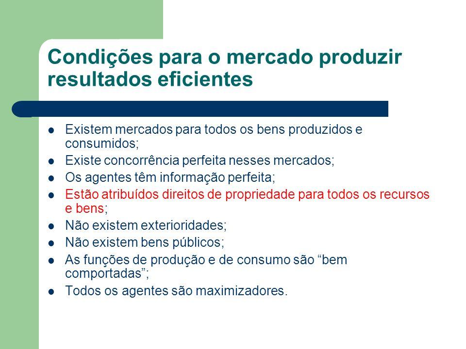Figure 4.8 Produção eficiente com poluição