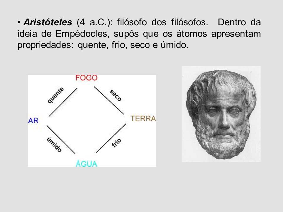 Modelos Atômicos Podemos dizer que o conceito do átomo nasceu na Grécia há aproximadamente 2.500 anos. Os seus atributos foram objeto de especulação d