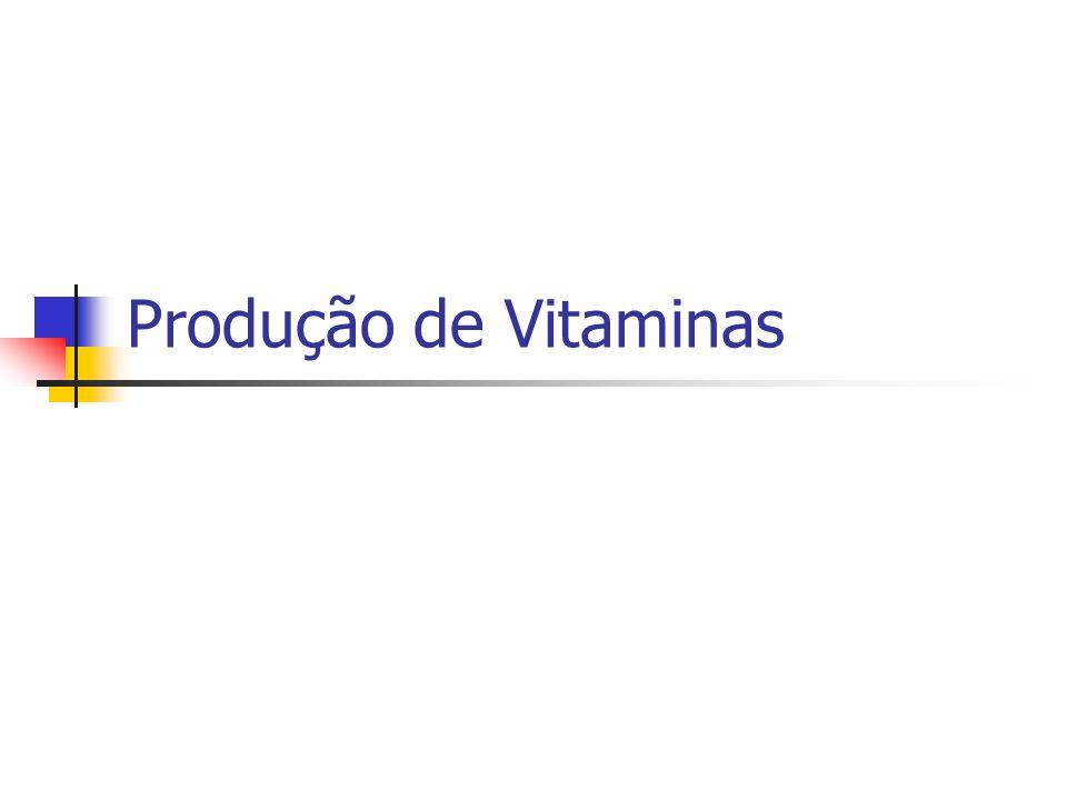 Produção de Vitaminas