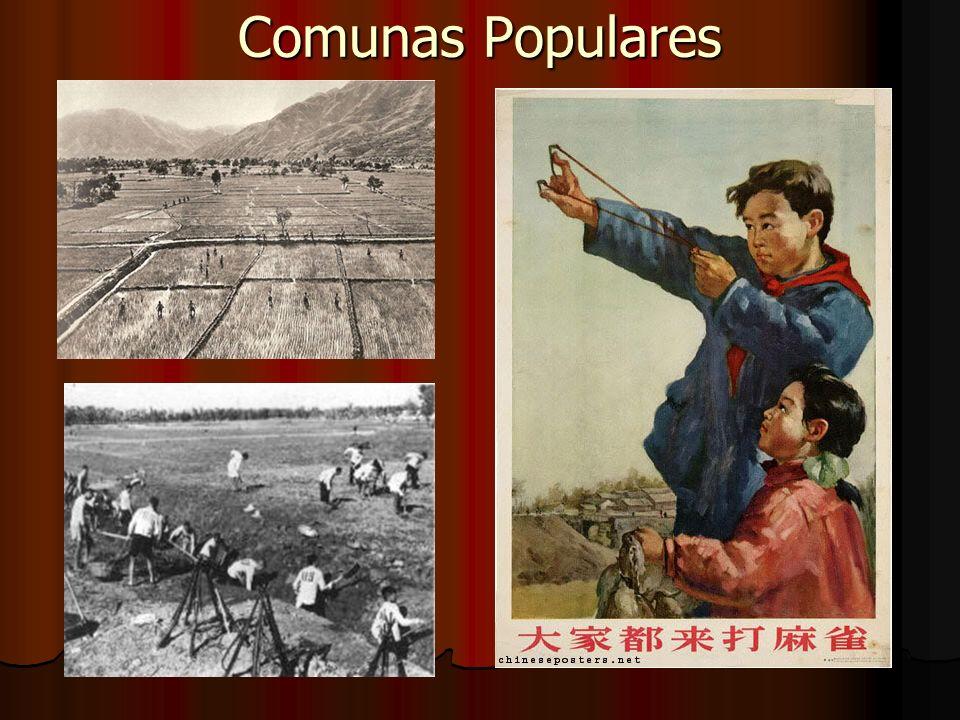 Período Mao Tsé-Tung (1949-76) 1962-66 => 3º Plano Quinquenal: 1962-66 => 3º Plano Quinquenal: Reestruturação da economia Reestruturação da economia Comando Li Shaoqui e Deng Xiao-Ping; Comando Li Shaoqui e Deng Xiao-Ping;