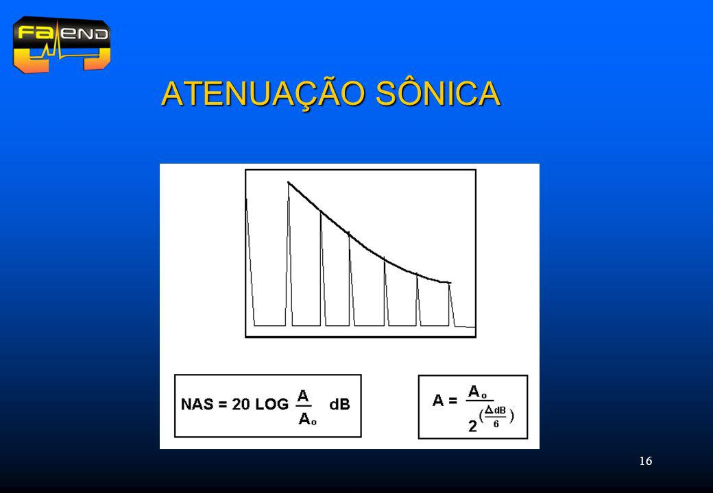 16 ATENUAÇÃO SÔNICA