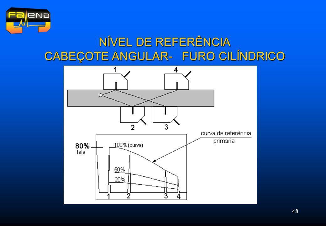 48 NÍVEL DE REFERÊNCIA CABEÇOTE ANGULAR- FURO CILÍNDRICO