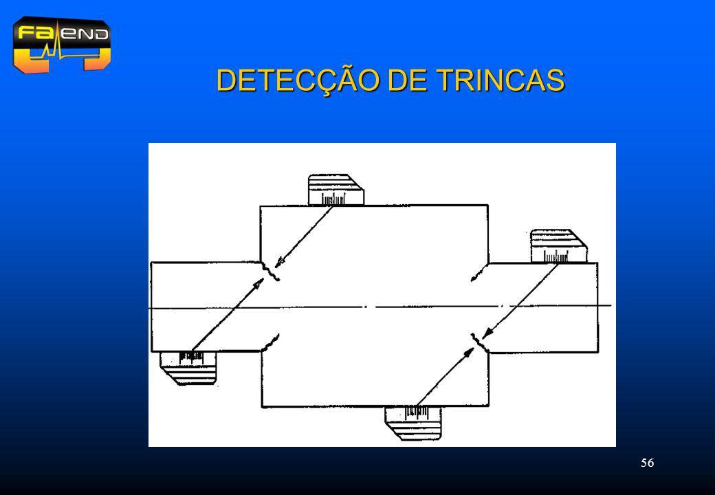 56 DETECÇÃO DE TRINCAS