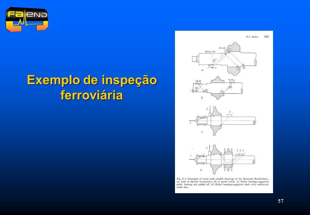 57 Exemplo de inspeção ferroviária