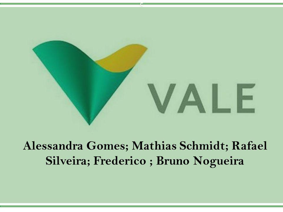Agenda: Visão Geral. Histórico. Características da Vale. Setor Índices Financeiros. Futuro.
