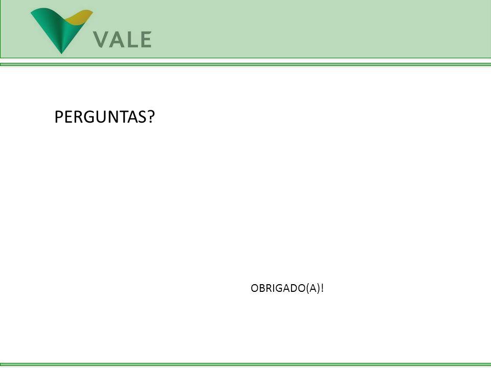 PERGUNTAS? OBRIGADO(A)!