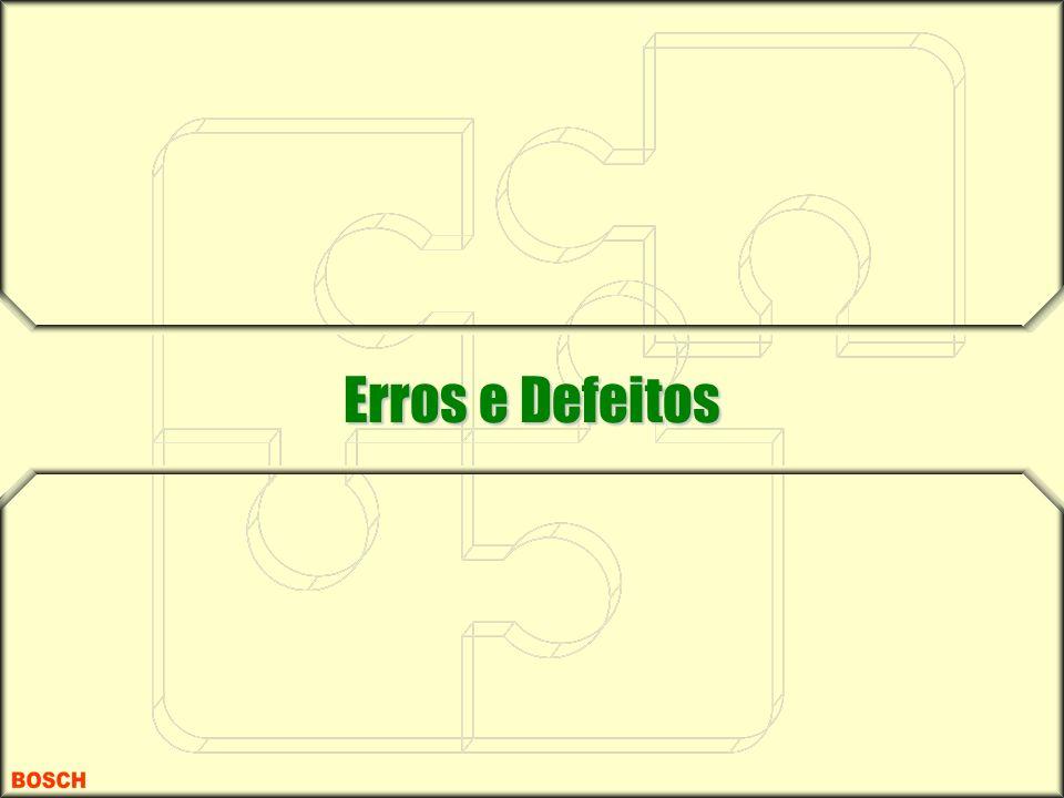 Erros e Defeitos