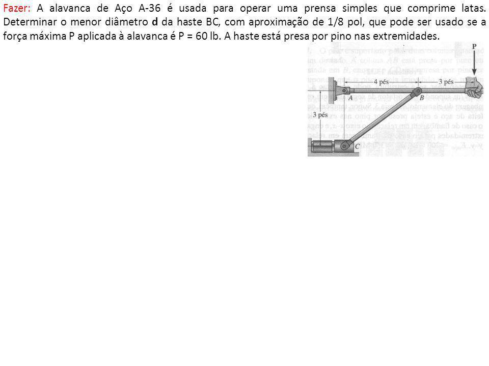 5.2 Colunas com Vários Tipos de Apoio Vimos, na fórmula de Euler para 2 apoios de pino, que o comprimento total da viga (L) representava a distância entre os pinos (pts onde o Momento fletor é nulo).