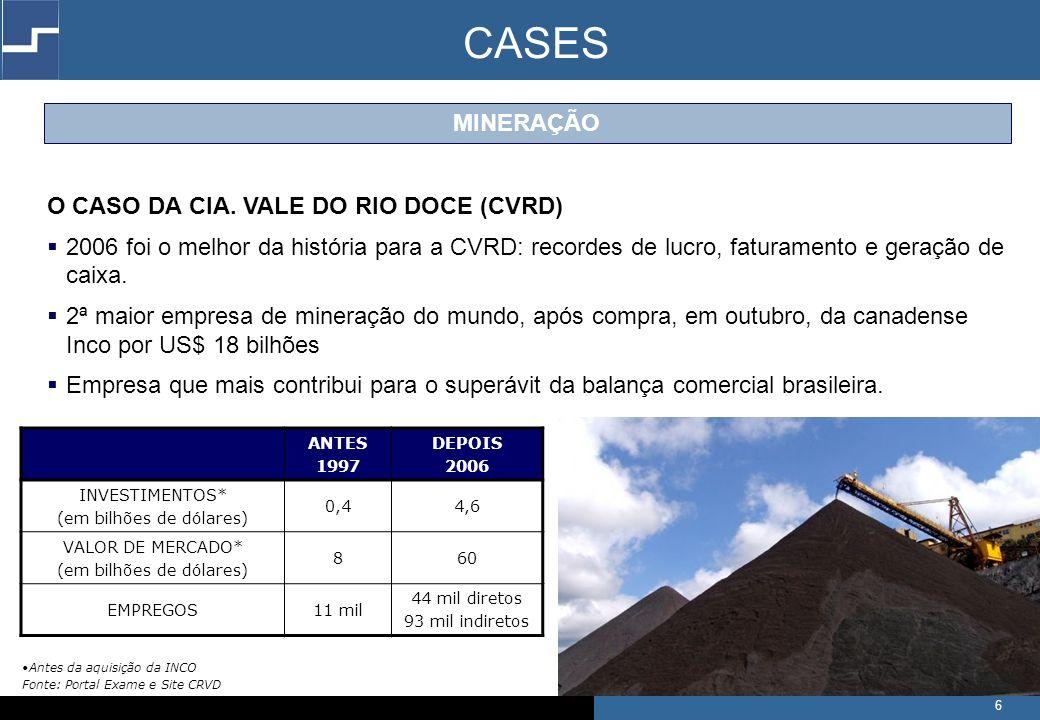 6 O CASO DA CIA.
