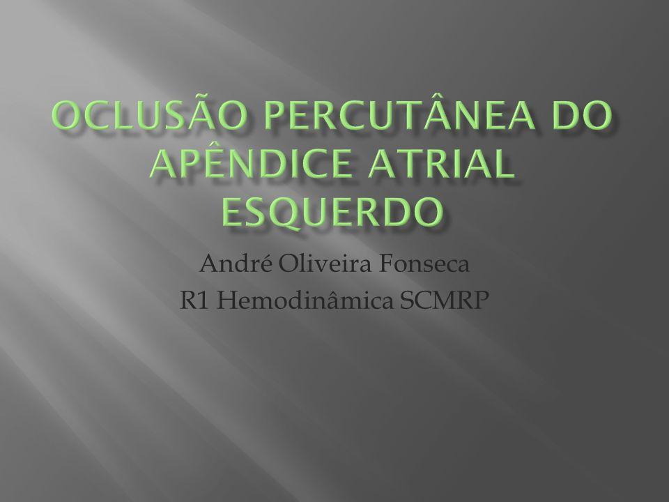 O único dispositivo aprovado no Brasil pela ANVISA é o Amplatzer Cardiac Plug (St.