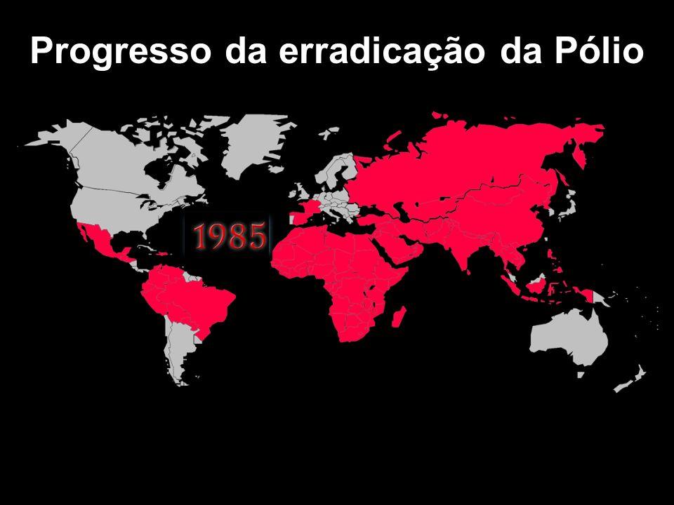 Progresso da erradicação da Pólio 34