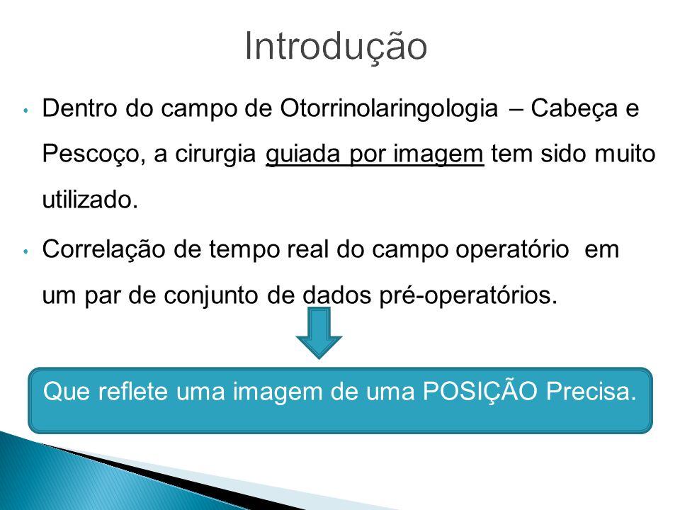 Dentro do campo de Otorrinolaringologia – Cabeça e Pescoço, a cirurgia guiada por imagem tem sido muito utilizado.