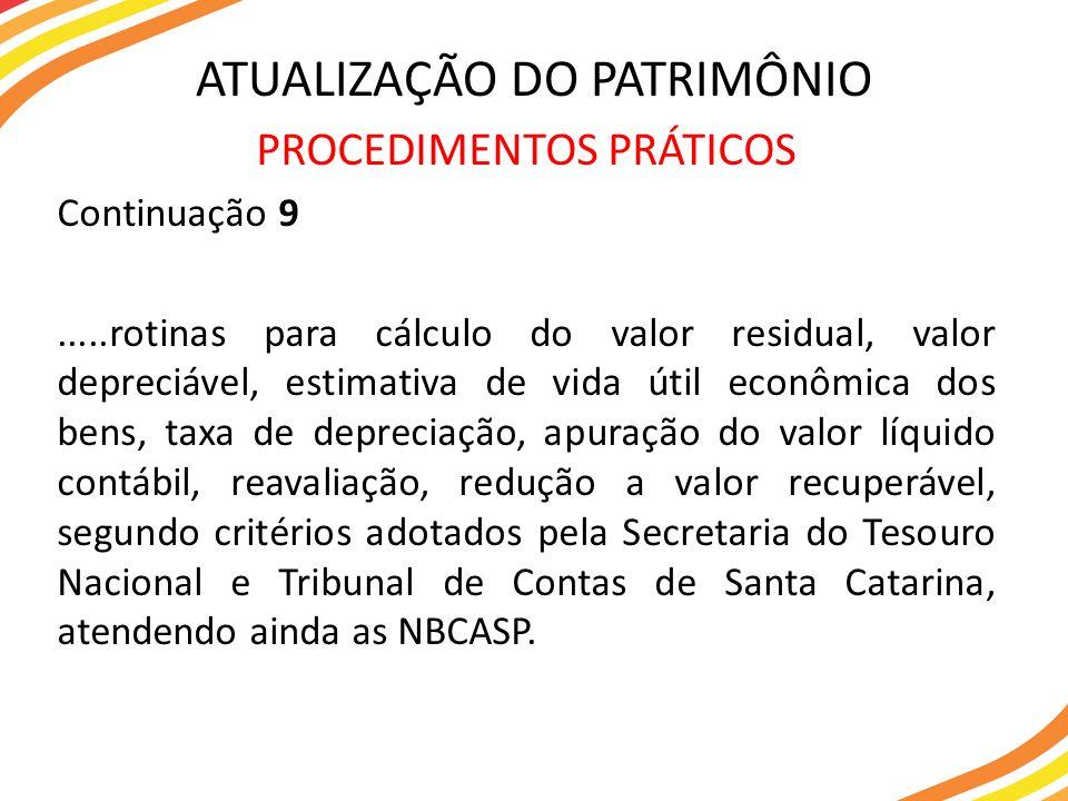 MATERIAL PERMANENTE X MATERIAL DE CONSUMO PATRIMÔNIO PÚBLICO VERIFICAÇÃO DOS PARÂMETROS.