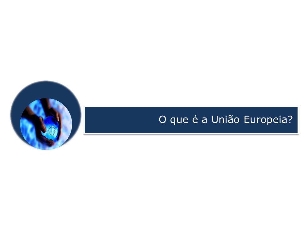 O que é a União Europeia?