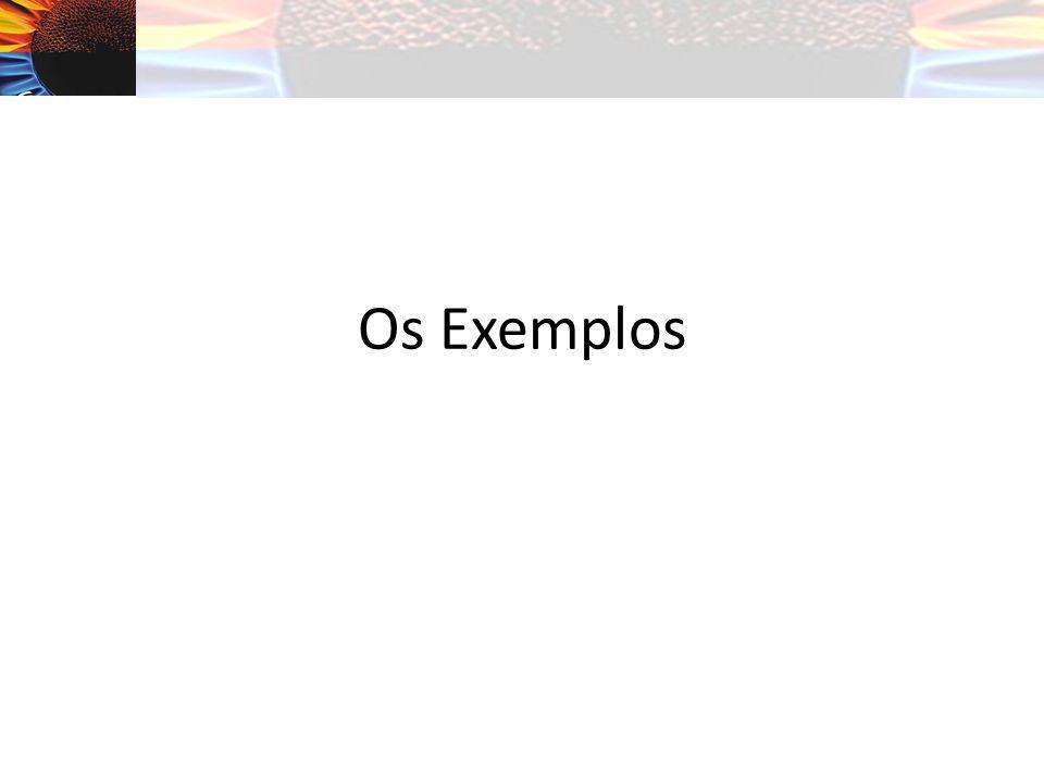 Os Exemplos