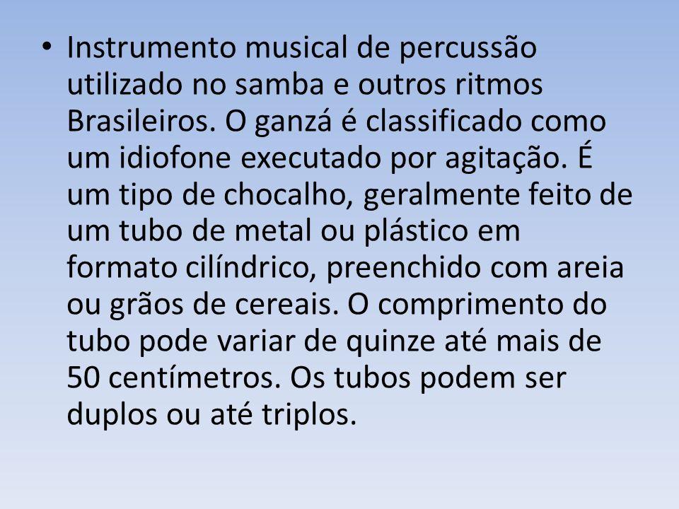 Instrumento musical de percussão utilizado no samba e outros ritmos Brasileiros.