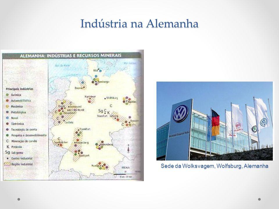 Indústria na Alemanha Sede da Wolksvagem, Wolfsburg, Alemanha