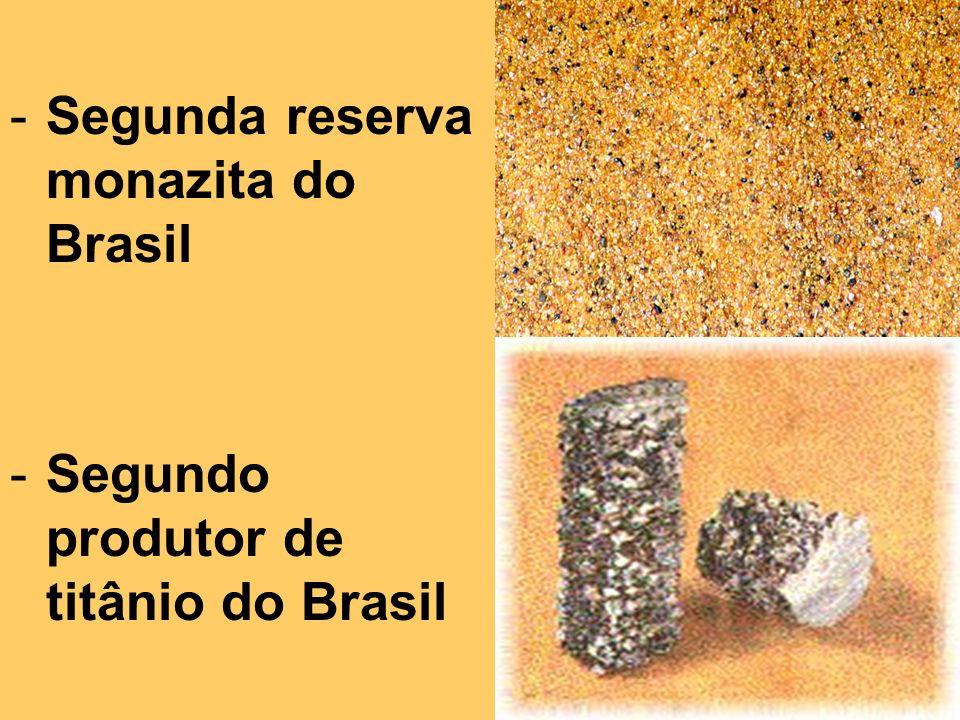 -Segundo produtor de cacau do Brasil -Segundo produtor de chocolate do Brasil
