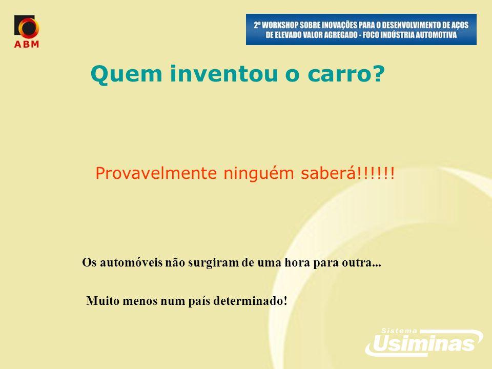 No ano de 2007, para o setor de auto e implementos rodoviários foram fornecidos aços Usi DP e Usigal DP....