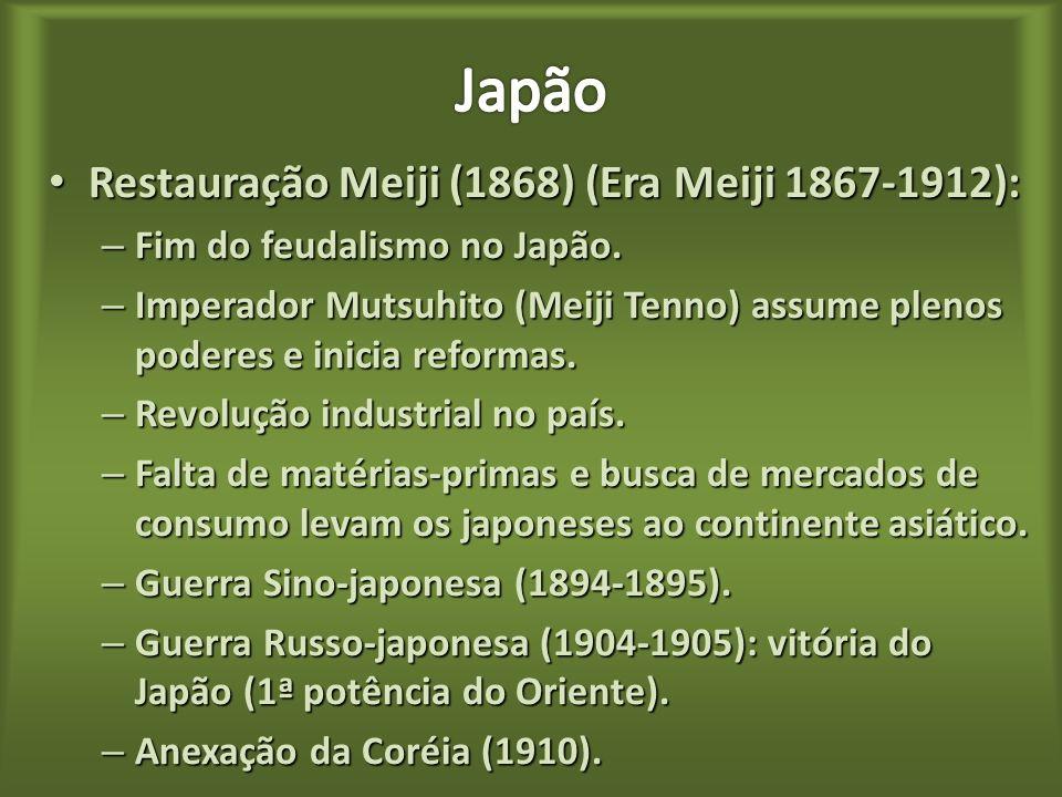 Histórico: Histórico: – Retrospectiva das relações entre Japão e o Ocidente. Primeiros contatos: Primeiros contatos: – Por meio dos portugueses que ch
