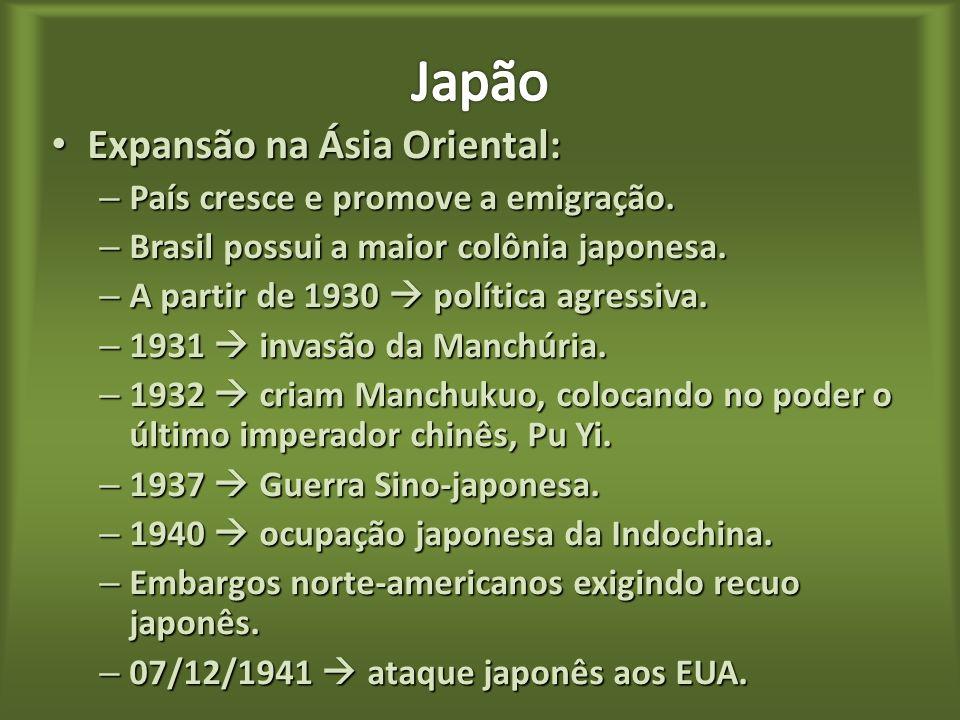 Restauração Meiji (1868) (Era Meiji 1867-1912): Restauração Meiji (1868) (Era Meiji 1867-1912): – Fim do feudalismo no Japão. – Imperador Mutsuhito (M