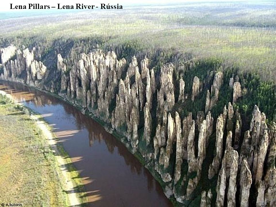 Lena Pillars – Lena River - Rússia