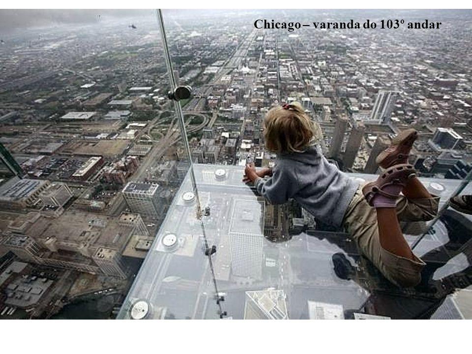 Chicago – varanda do 103º andar