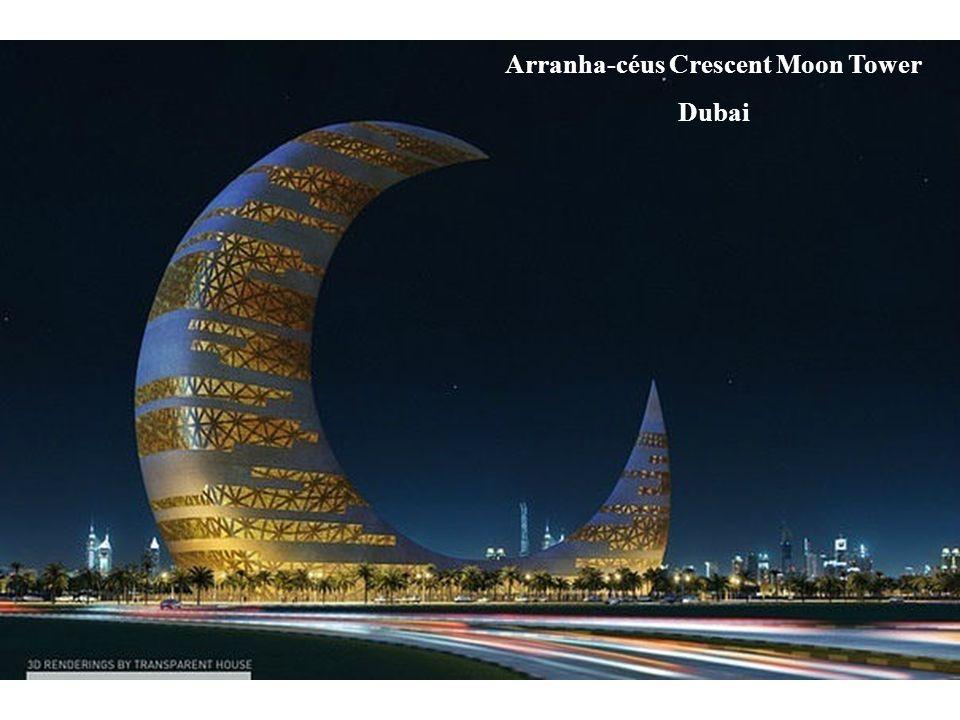 Arranha-céus Crescent Moon Tower Dubai