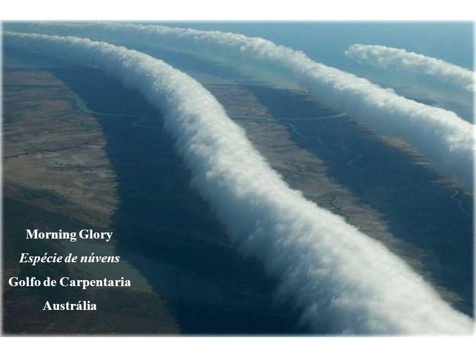 Morning Glory Espécie de núvens Golfo de Carpentaria Austrália