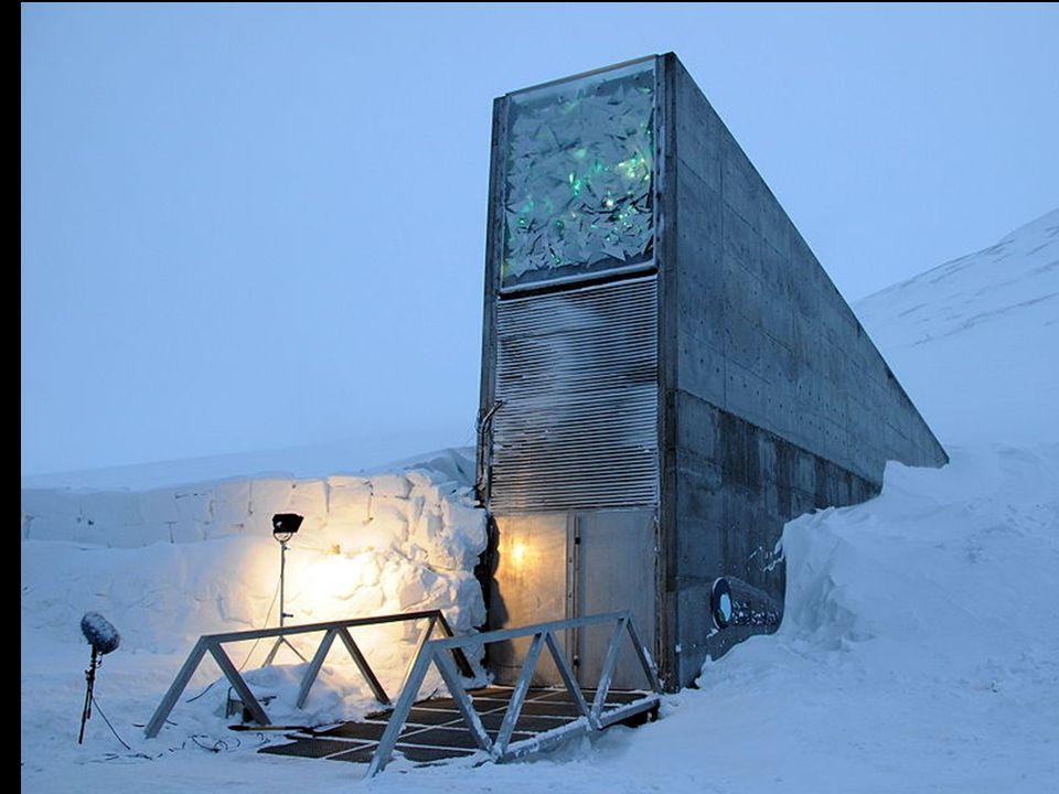A Svalbard International Seed Vault (SISV), também conhecida como a arca do fim do mundo