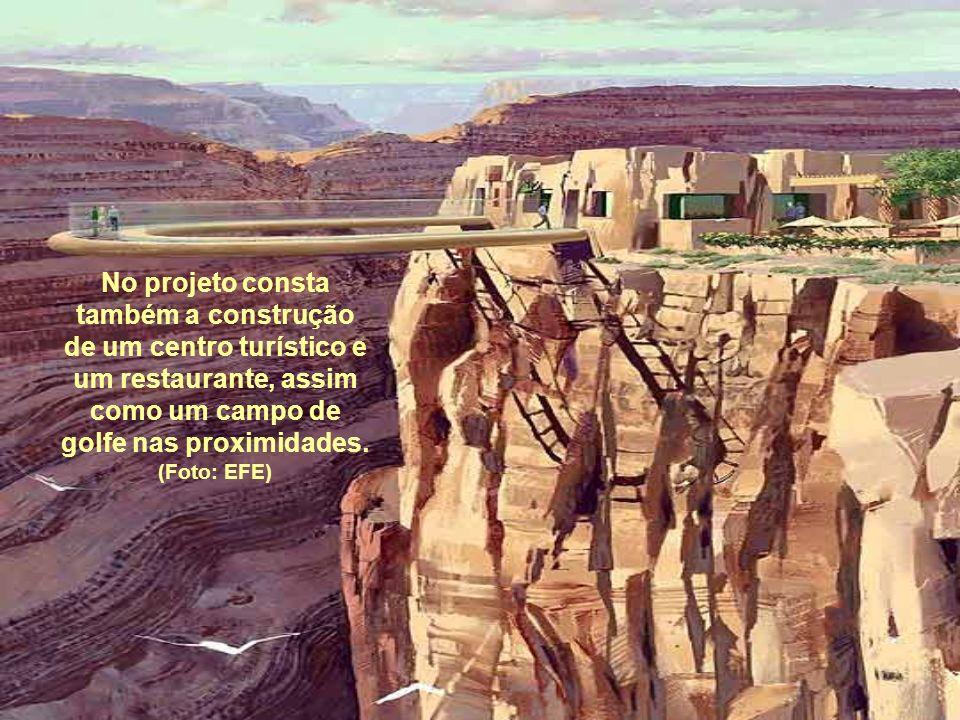 No projeto consta também a construção de um centro turístico e um restaurante, assim como um campo de golfe nas proximidades. (Foto: EFE)