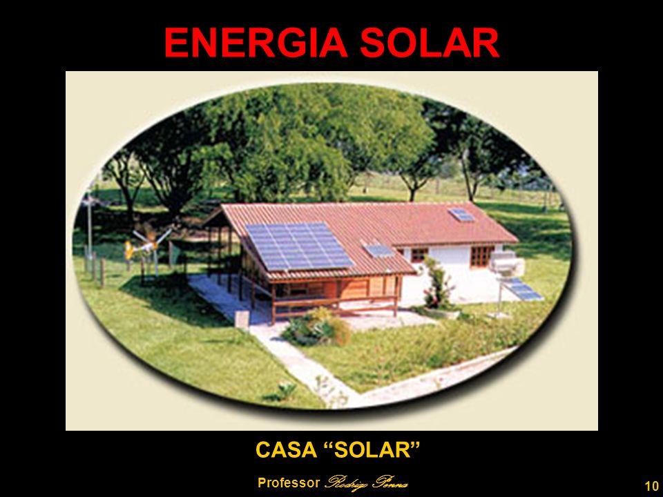 10 Professor Rodrigo Penna ENERGIA SOLAR CASA SOLAR