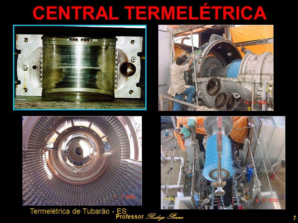 7 Professor Rodrigo Penna CENTRAL TERMELÉTRICA Termelétrica de Tubarăo - ES
