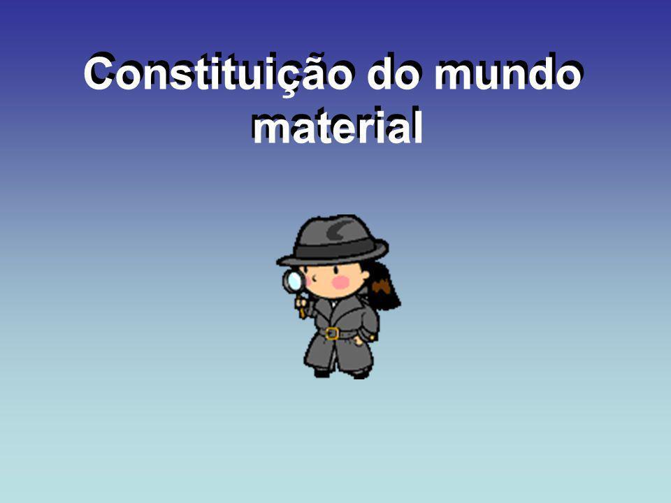 Constituição do mundo material Constituição do mundo material