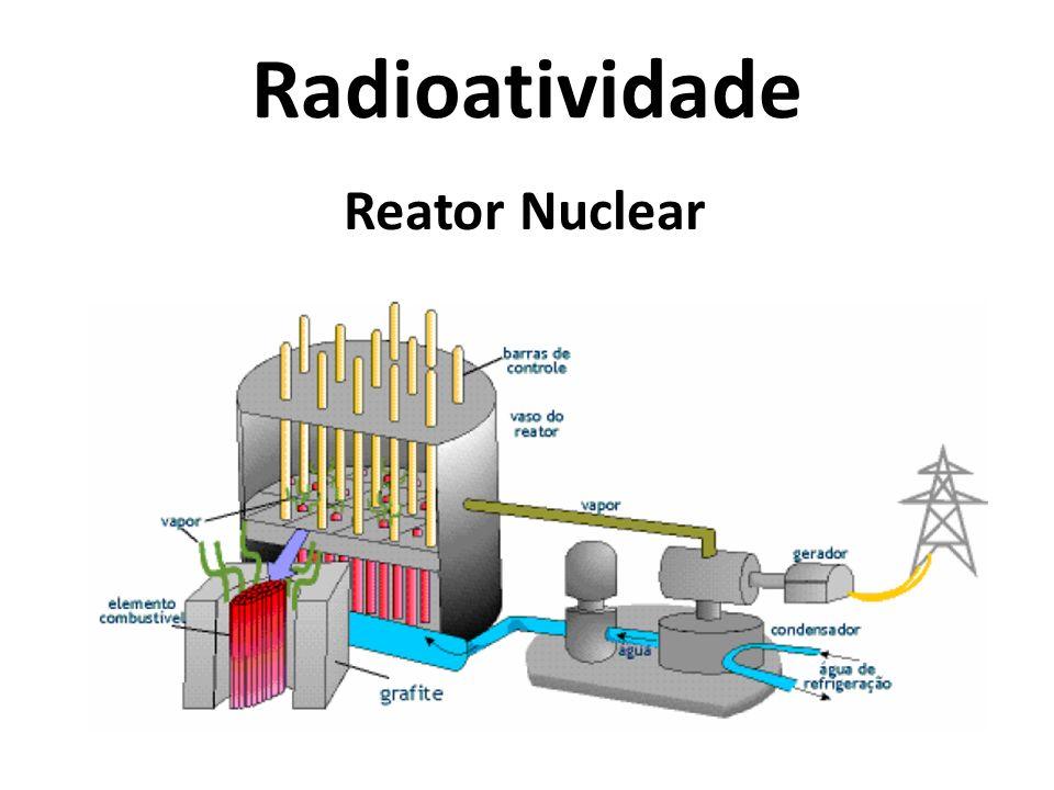 Radioatividade Reator Nuclear