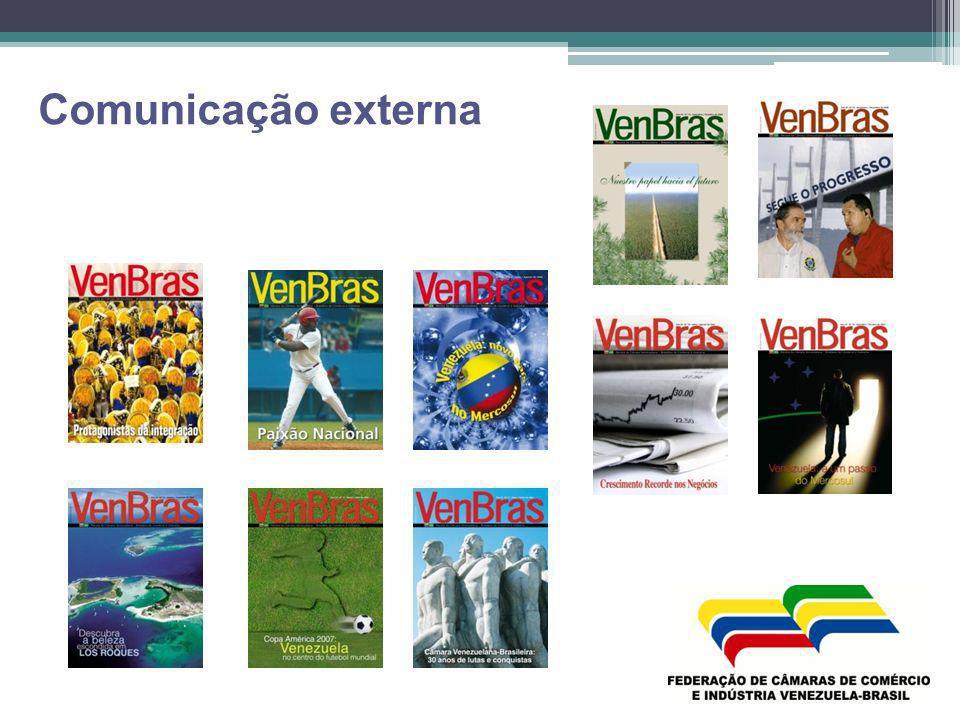 Site: www.fecamvenez.com.brwww.fecamvenez.com.br www.revistavenbras.blogspot.com @revistavenbras Fecamvenez www.flickr.com/photos/fecamvenez