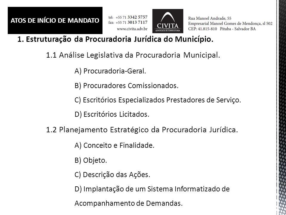 4.Implicações de uma Má-gestão Jurídica.