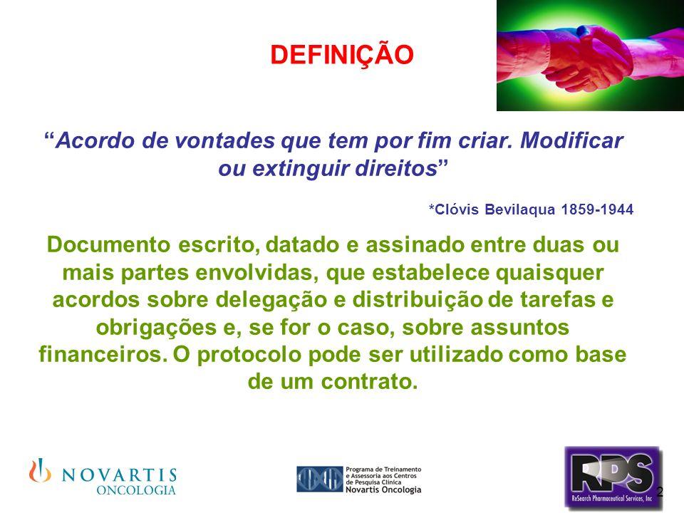 2 DEFINIÇÃO Acordo de vontades que tem por fim criar. Modificar ou extinguir direitos *Clóvis Bevilaqua 1859-1944 Documento escrito, datado e assinado