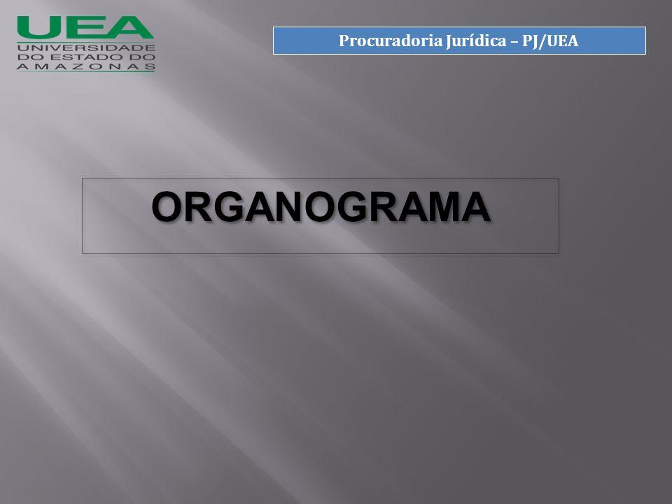 ORGANOGRAMA Procuradoria Jurídica – PJ/UEA