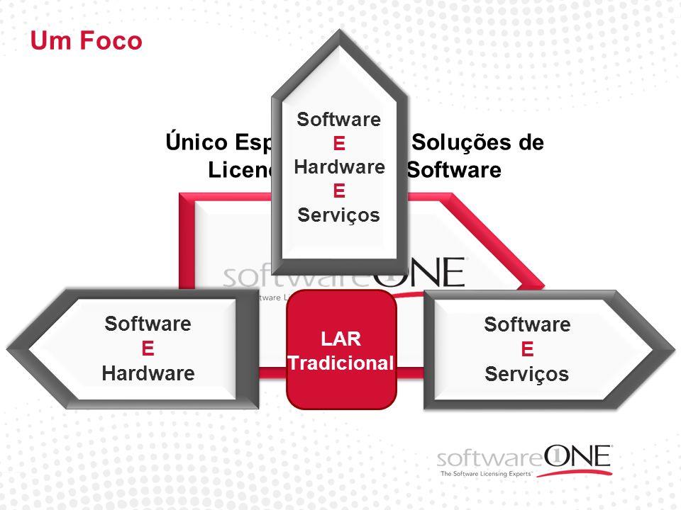 Único Especialista em Soluções de Licenciamento de Software Gestão de Ativos VAR Assist Program Foco em qualidade 100%: software / licenciamento / SAM
